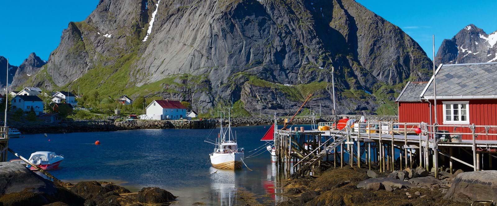 Fishing village, Lofoten