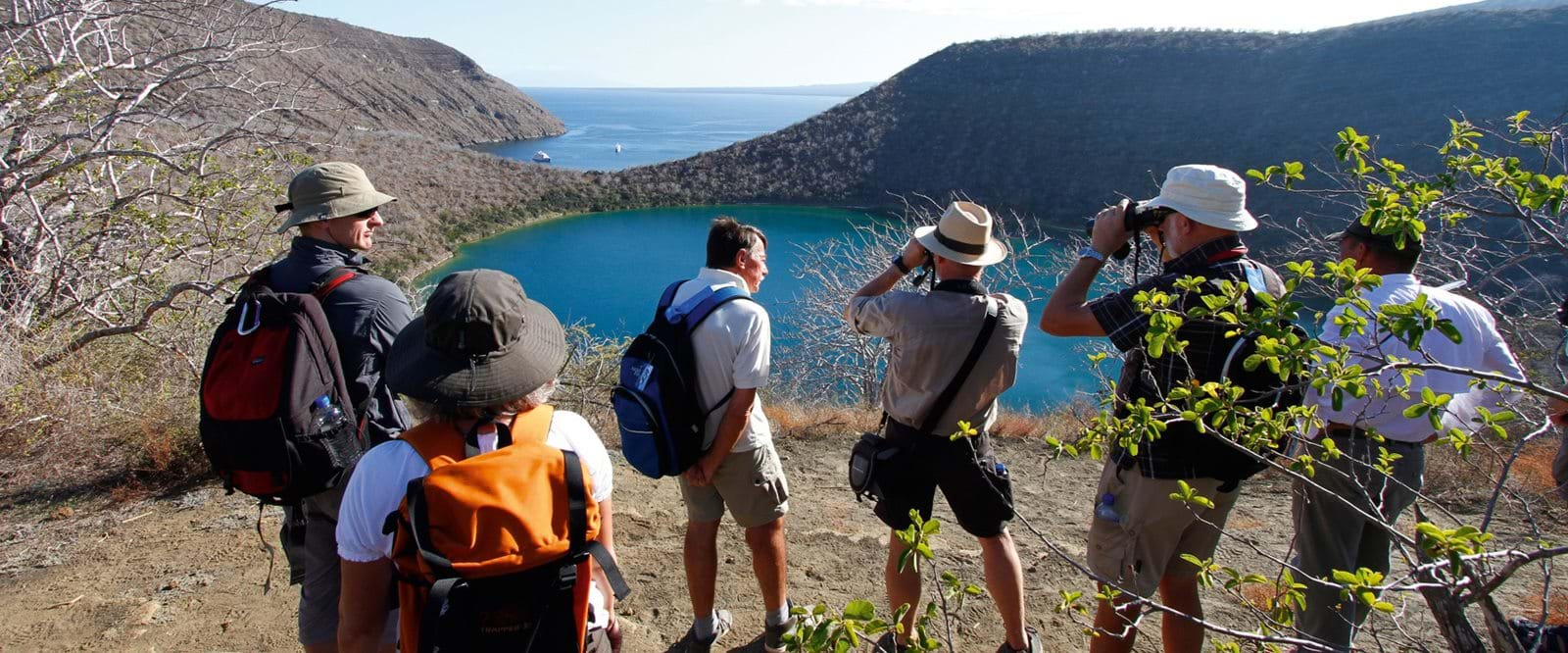Galapagos, Travel, Travellers, Landscape, Hiking