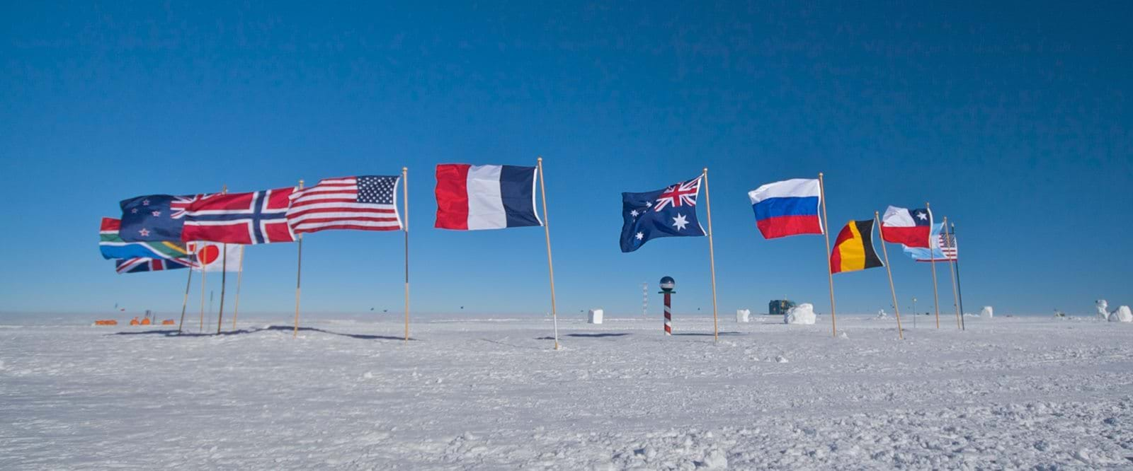 fly to the south pole
