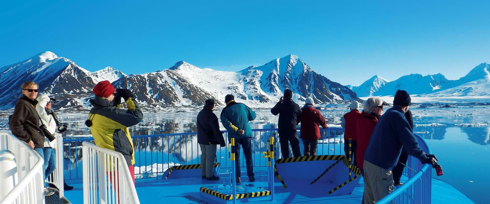 cruise Spitsbergen, Arctic expedition