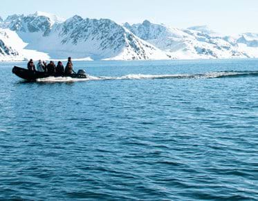zodiac cruise, svalbard, expedition,