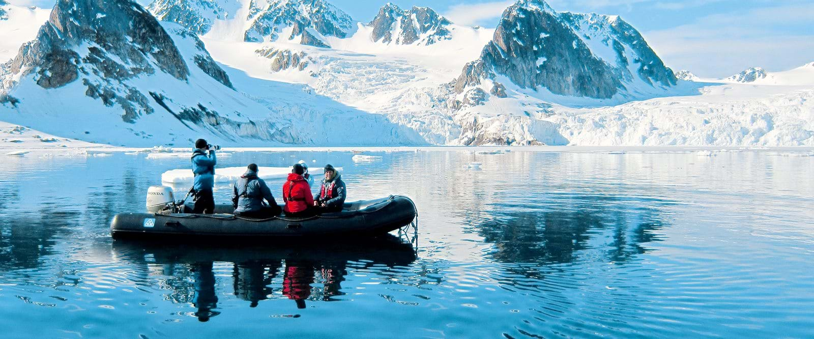 Zodiac cruise, Svalbard, expedition cruise, Arctic cruise