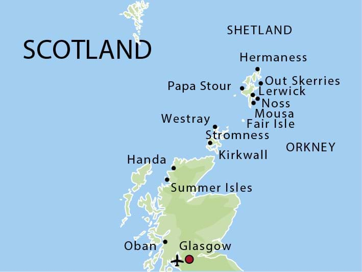 Visit the Orkney and Shetland Islands with M/S Stockholm 2017