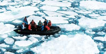 Cruising in Svalbard
